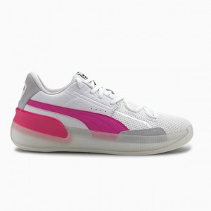 CLYDE HARDWOOD BASKETBALL SHOE 'PINK GLO'
