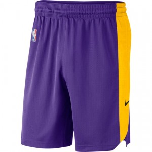 LOS ANGELES LAKERS PRACTICE SHORTS '18